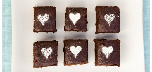 vegan bean brownies