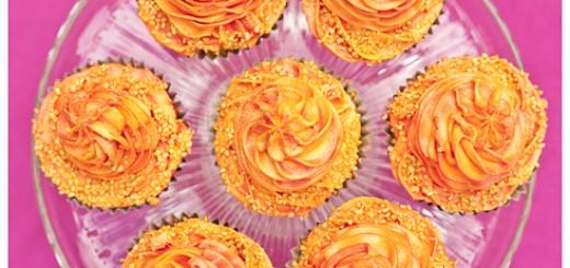 Juicy Orange Cupcakes