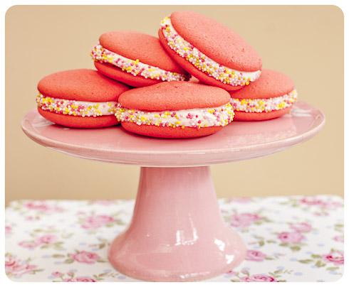 Strawberry Milkshake Whoopie Pies Vagabond Baker