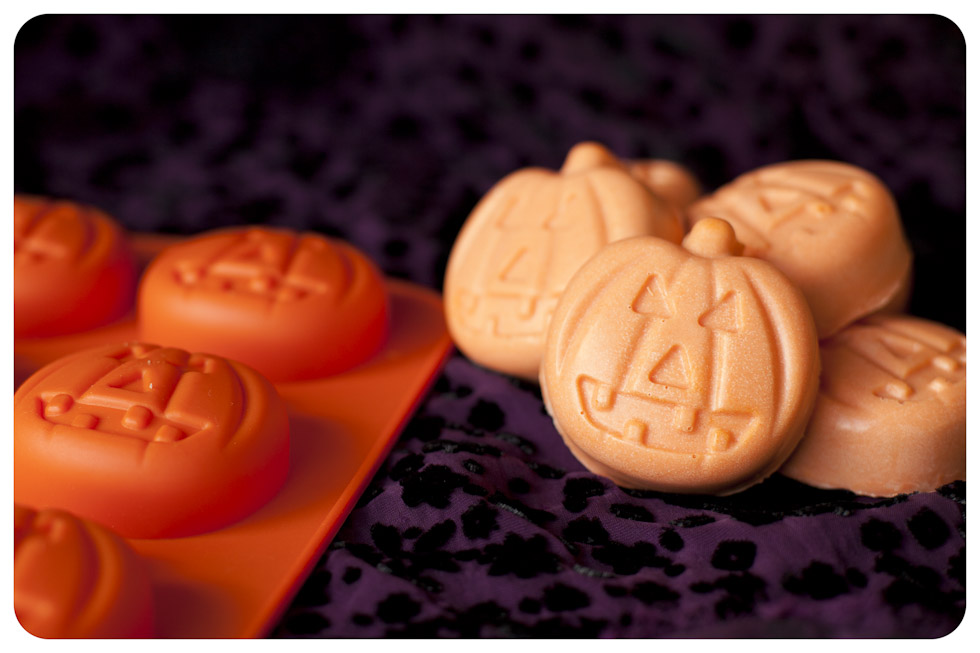 Peanut Butter, White Chocolate and Raspberry Jack O'Lanterns ...