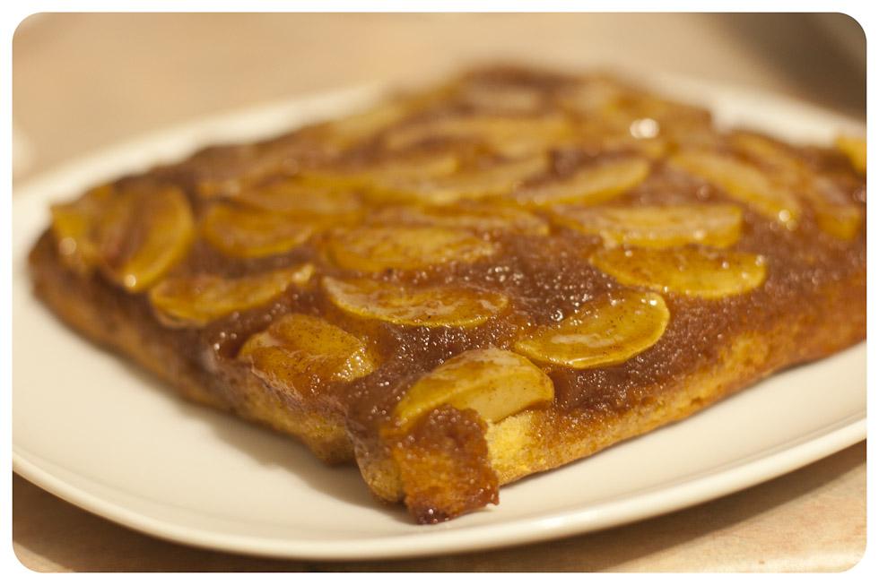 Apple Upside-down Pudding Cake - Vagabond Baker