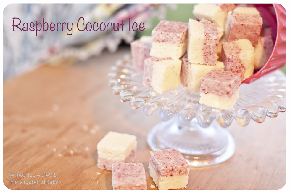Raspberry Coconut Ice