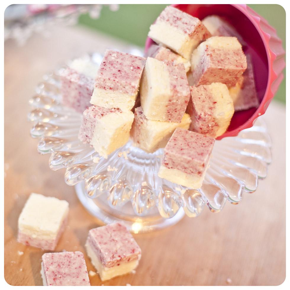 No bake Raspberry Coconut Ice  http://vagabondbaker.com/2012/11/18/1102/