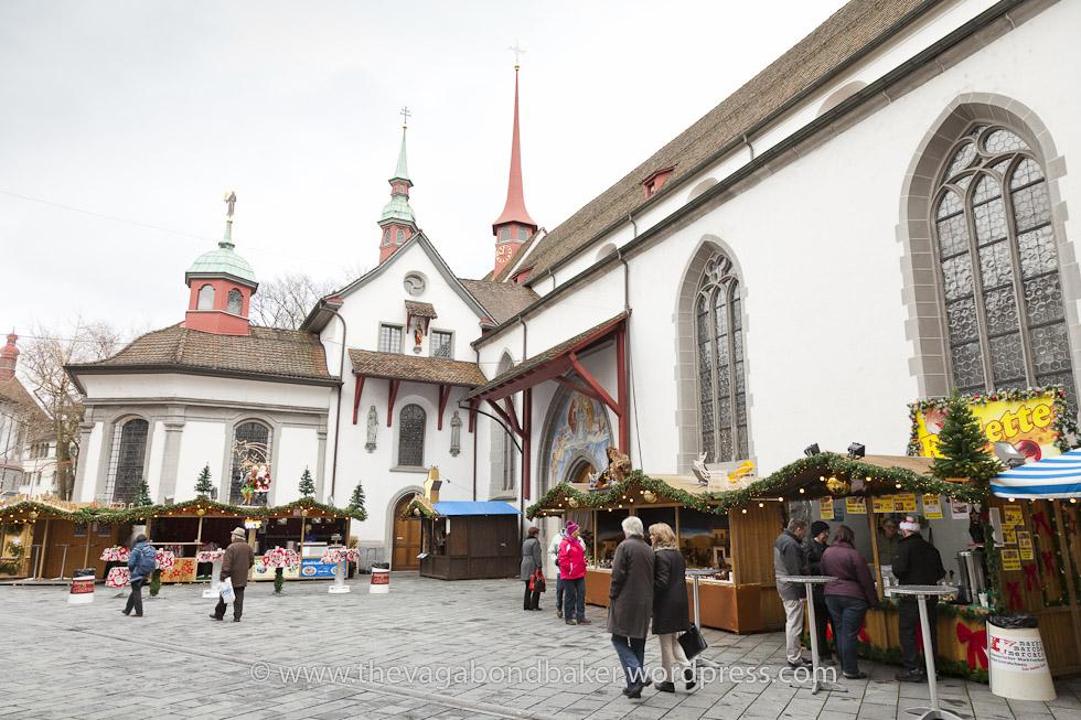 Christmas Market Luzern