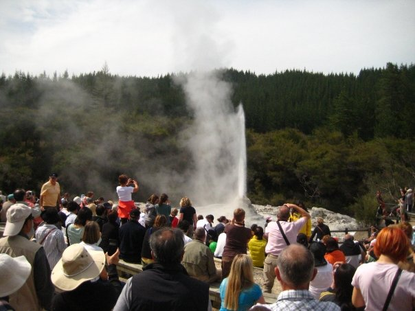 oh, and there's a geyser!