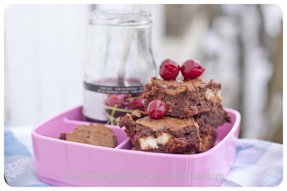 Black Forest Brownie, Gluten Free