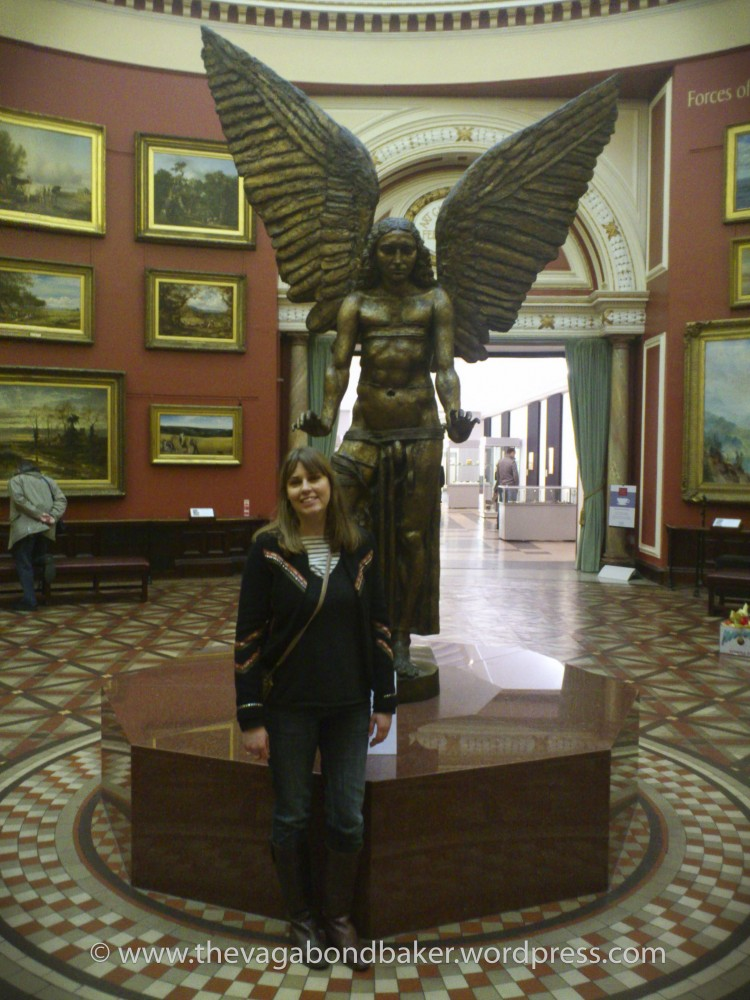 by Jacob Epstein. This statue is like an old friend!