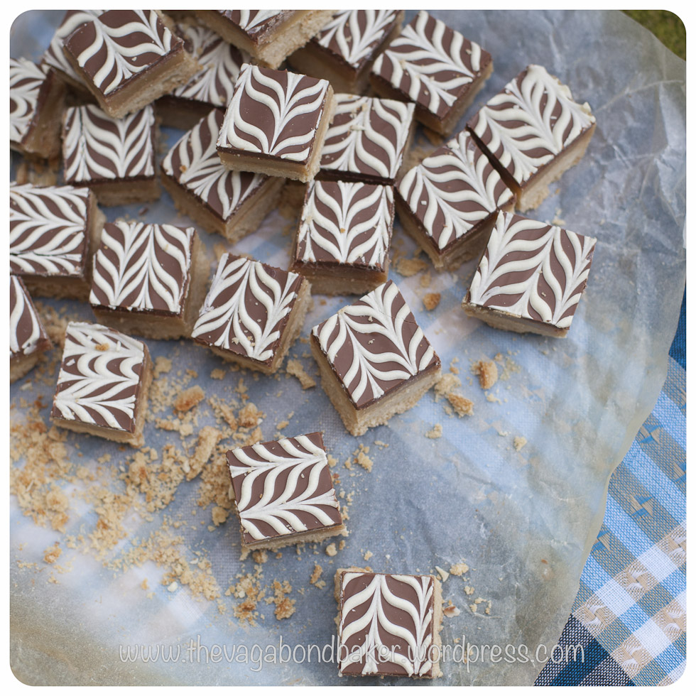 Salted Caramel Shortbread | Vagabond Baking