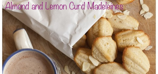 Almond and Lemon Curd Madeleines