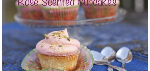 Rose Scented Cupcakes