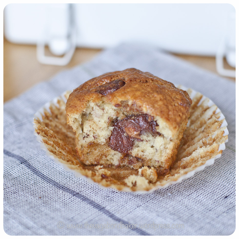 Banana and Chocolate Muffins | Vagabond Baking-8