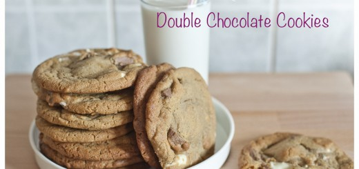 Double Chocolate Cookies