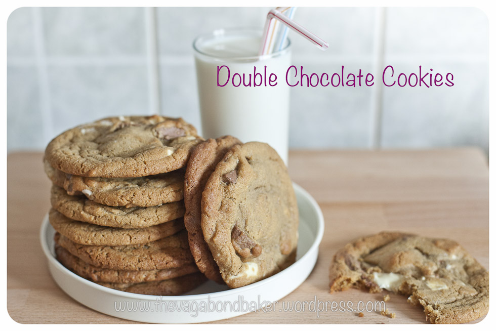 Double Chocolate Cookies | Vagabond Baking