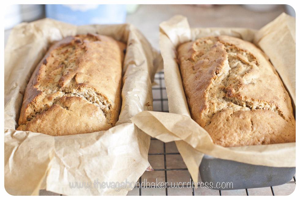 Sticky Toffee Banana Loaf   Vagabond Baking
