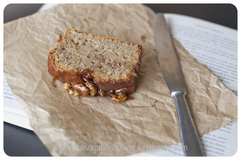 Sticky Toffee Banana Loaf | Vagabond Baking
