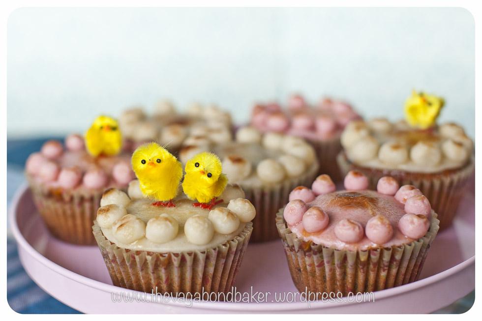 Simnel Cupcakes | Vagabond Baking