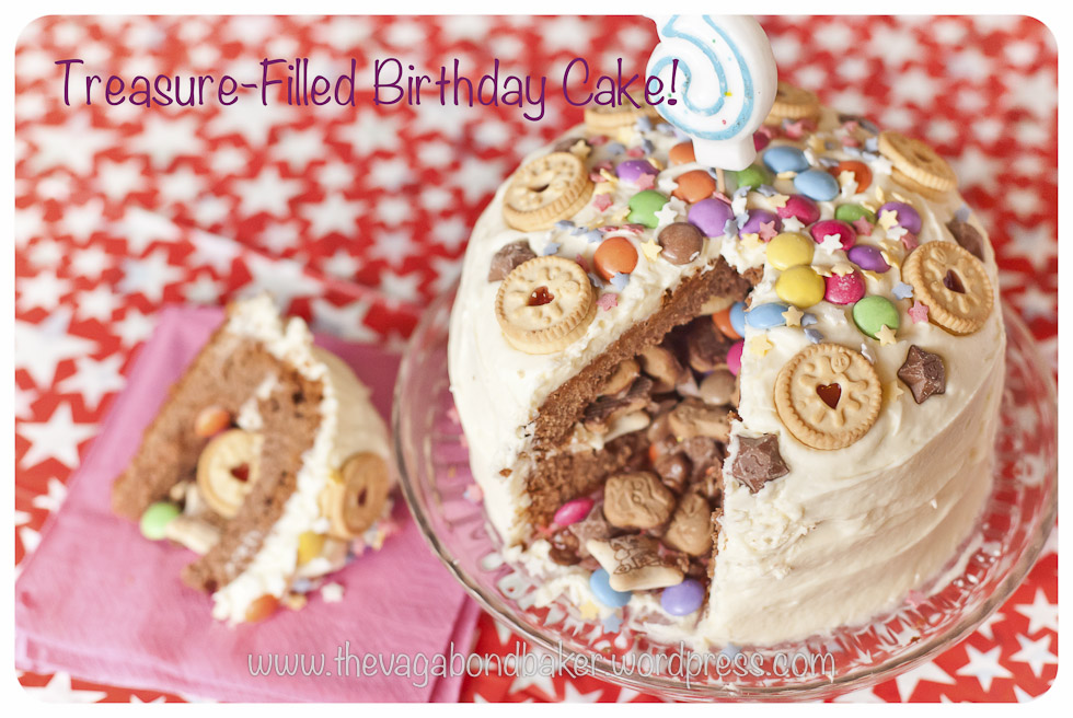 Treasure Filled Birthday Cake Vagabond Baker