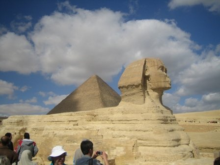 Pyramid and Sphinx, Egypt. Location for The Spy Who Loved Me | Vagabond Baking