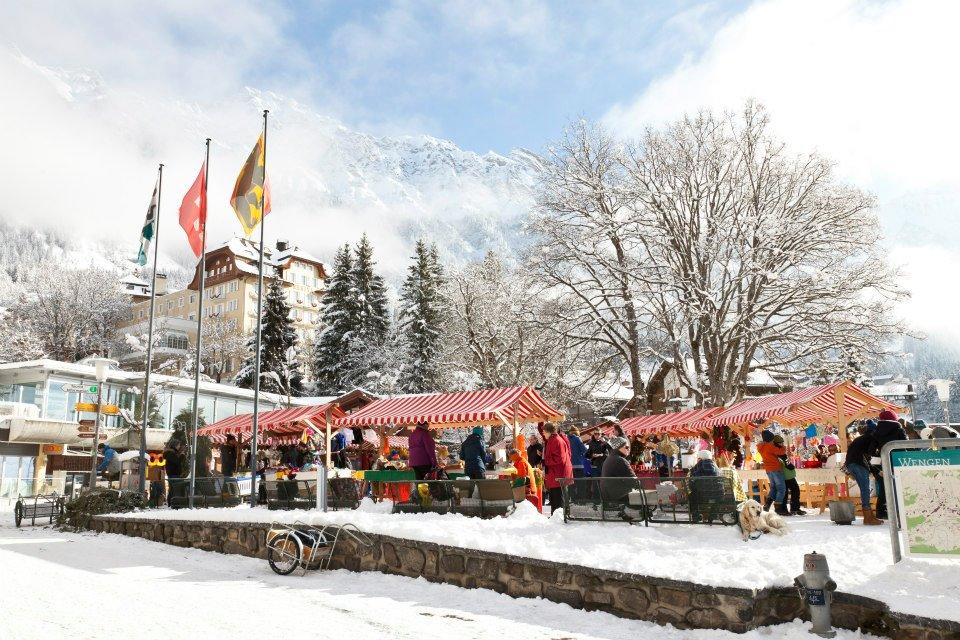 Wengen Christmas Market