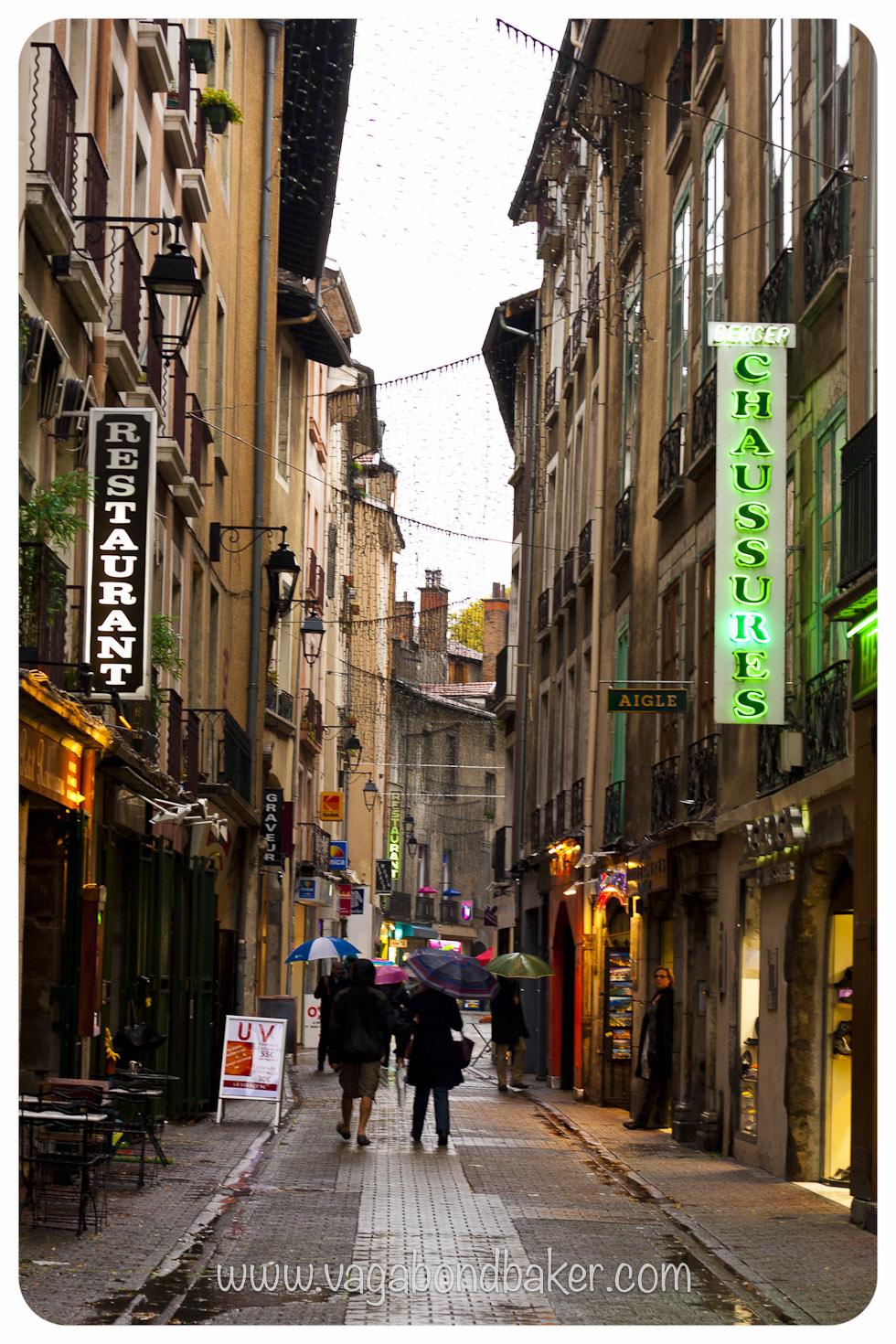 Rain, Grenoble