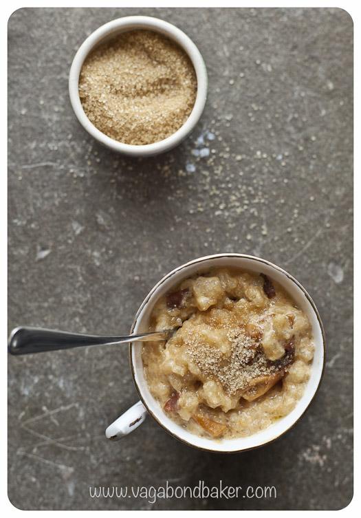 serve sprinkled with sugar.