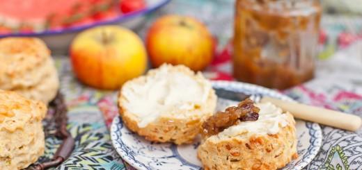 Cheese and Onion Super Scones | Vagabond Baking