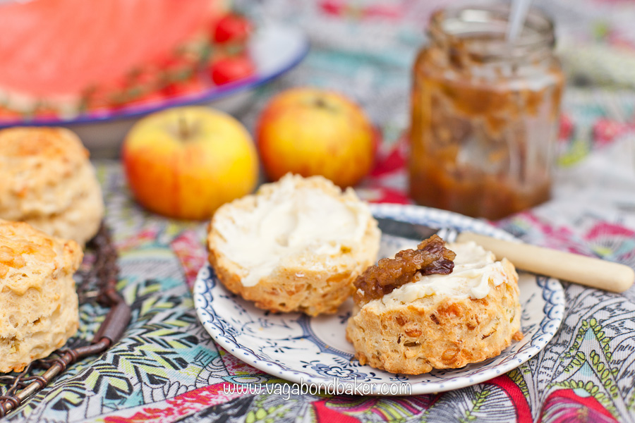 Cheese and Onion Super Scones