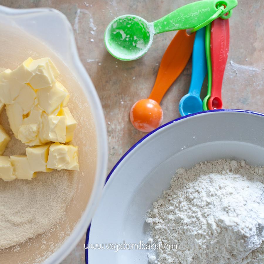 Strawberries and Cream Meringue Cake | Vagabond Baking
