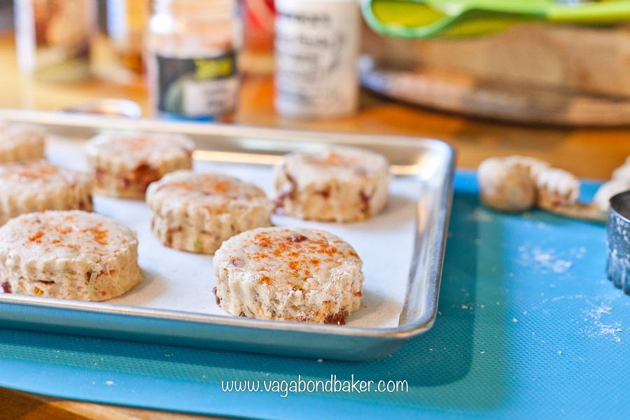 Vegan Sun-Dried Tomato Scones | Vagabond Baking