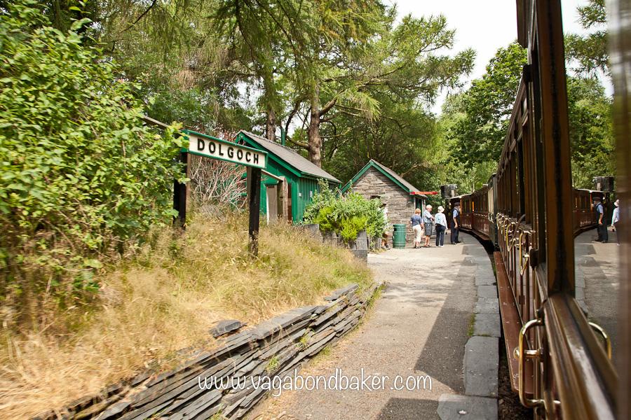 Dolgoch station on the Talyllyn narrow gauge railway
