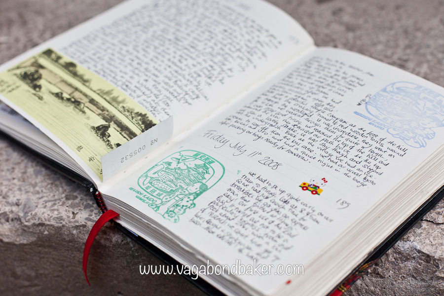 Keeping a creative travel journal | Vagabond Baking