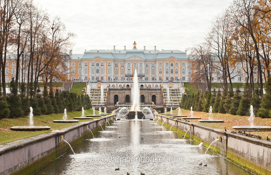 Peterhof, St Peterburg, Russia