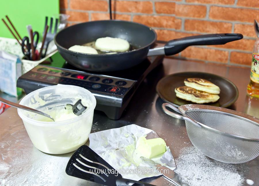 Pancakes, Hong Kong style!