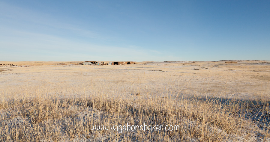 No road signs in the Gobi Desert. Part 1