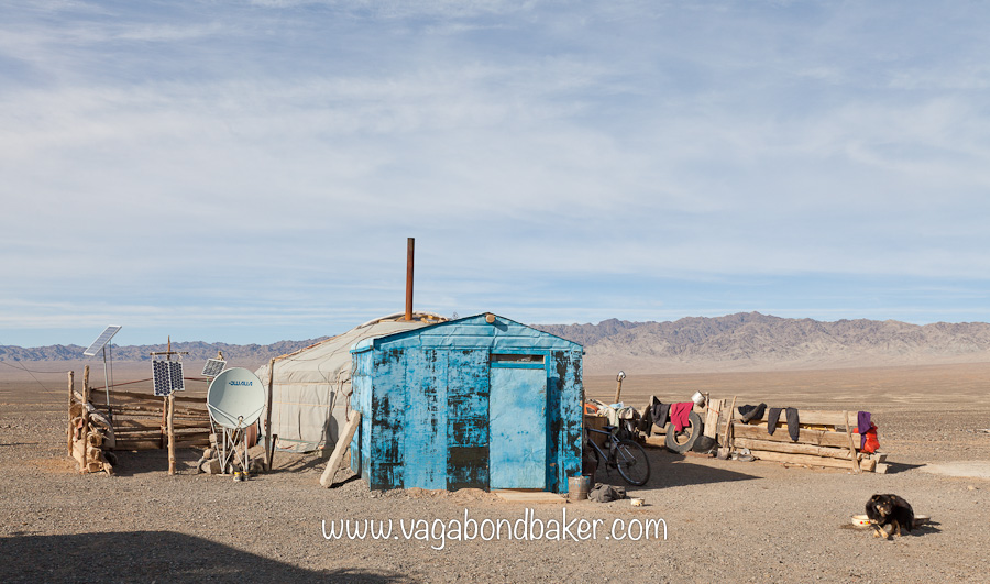 No road signs in the Gobi Desert. Part 3