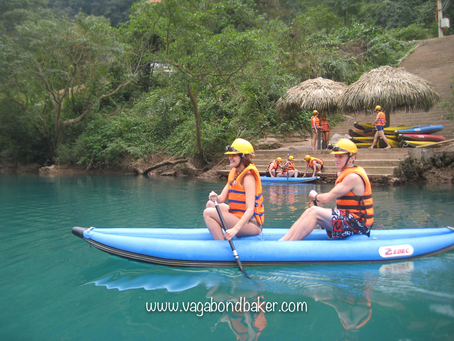 The dreadful-to-manoeuvre kayaks