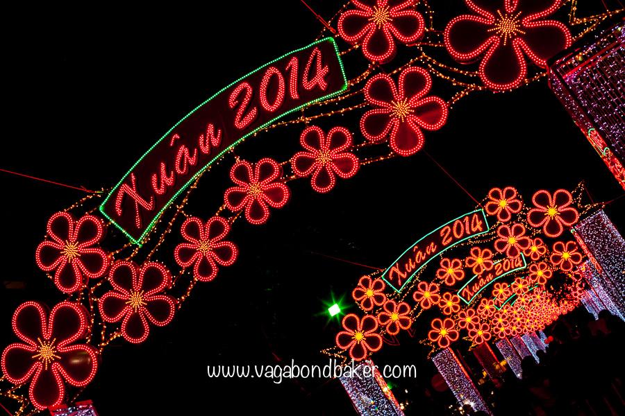 Lights for Tet, Vietnamese New Year