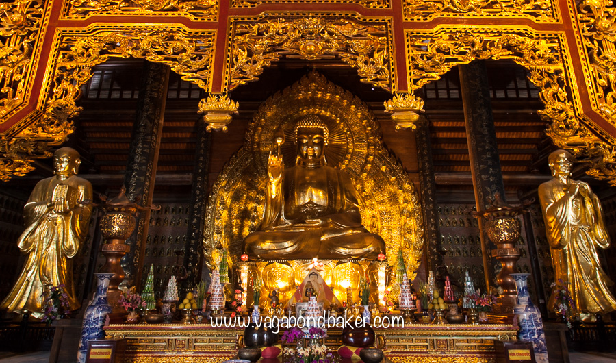 New Bai Dinh Temple, Vietnam