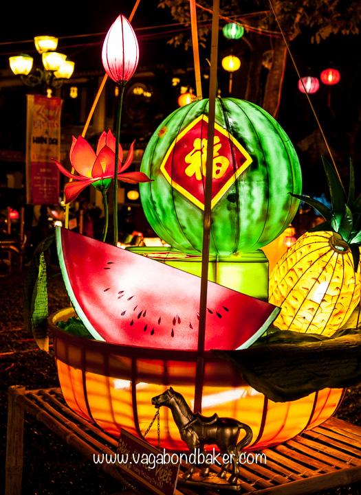 Fruit basket lantern