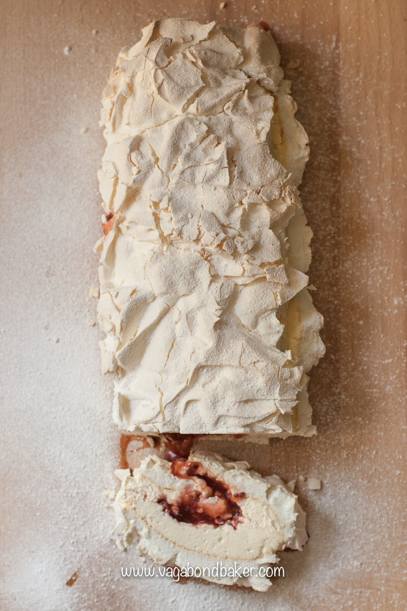 Gooseberry Meringue Roulade-7655