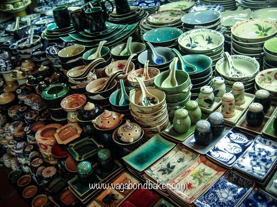 Pots in the Russian market