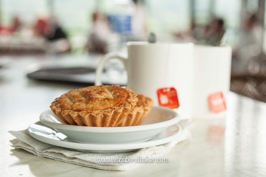 A delicious Coconut Tart at the Boh Tea Plantations, Cameron Highlands, Malaysia