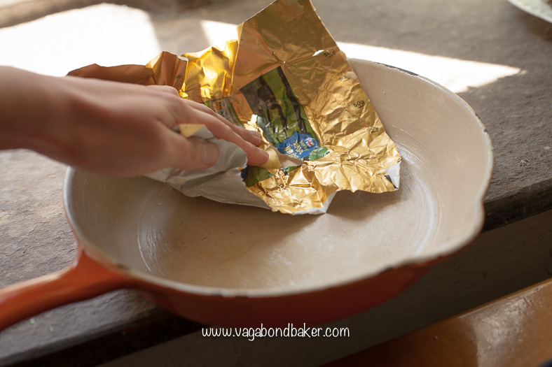 Butter the ovenproof dish