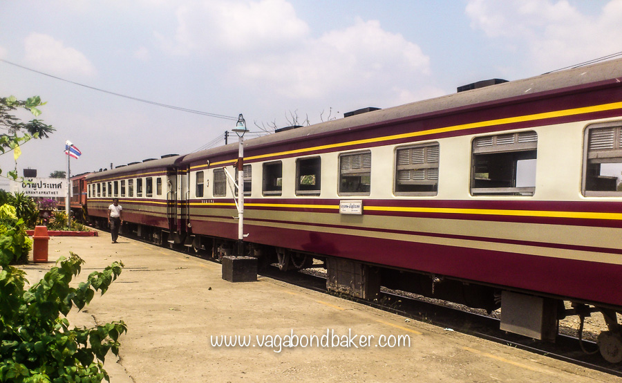 The Bangkok to Aranyaprathet train-2084
