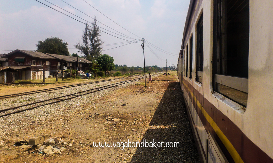 The Bangkok to Aranyaprathet train-2089