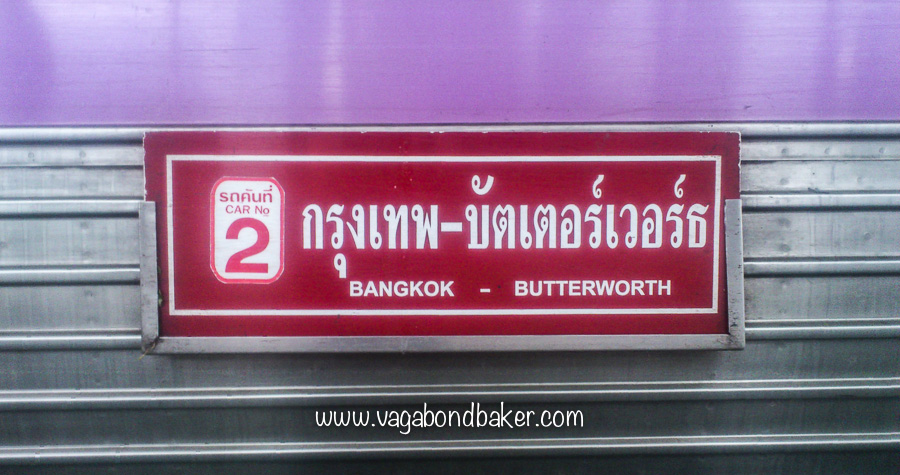BKK to Butterworth Train-2287