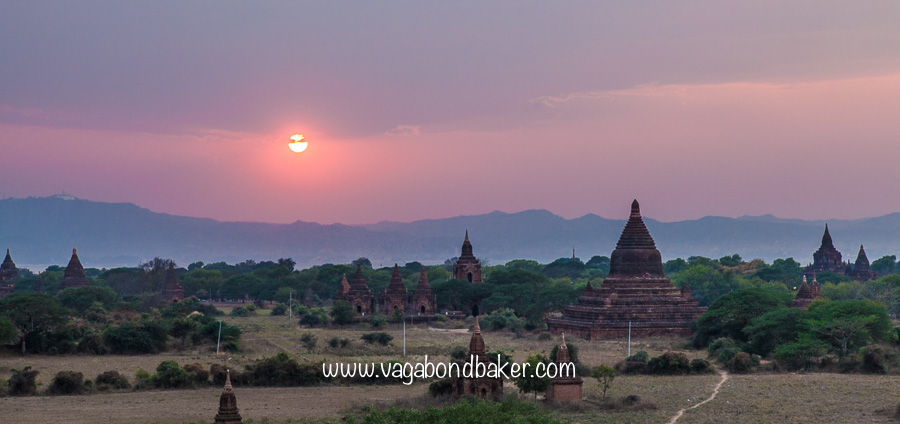 Bagan, sunset