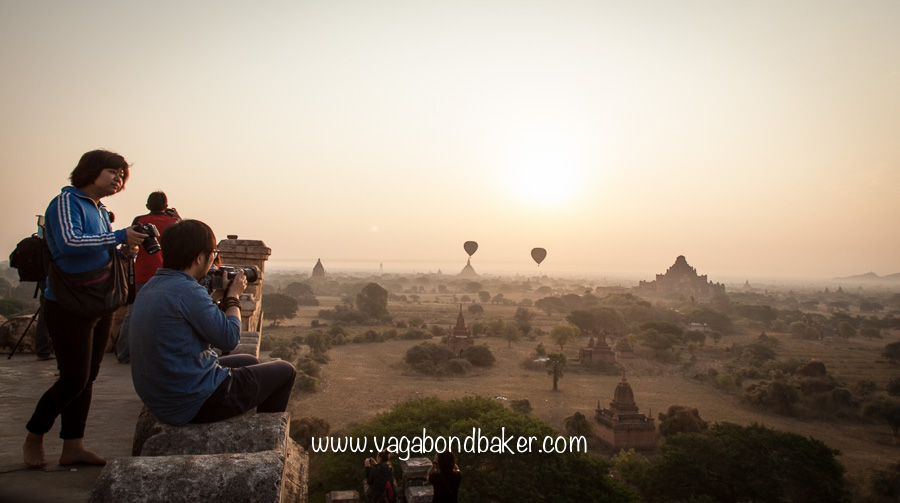 Bagan sunrise, Burma