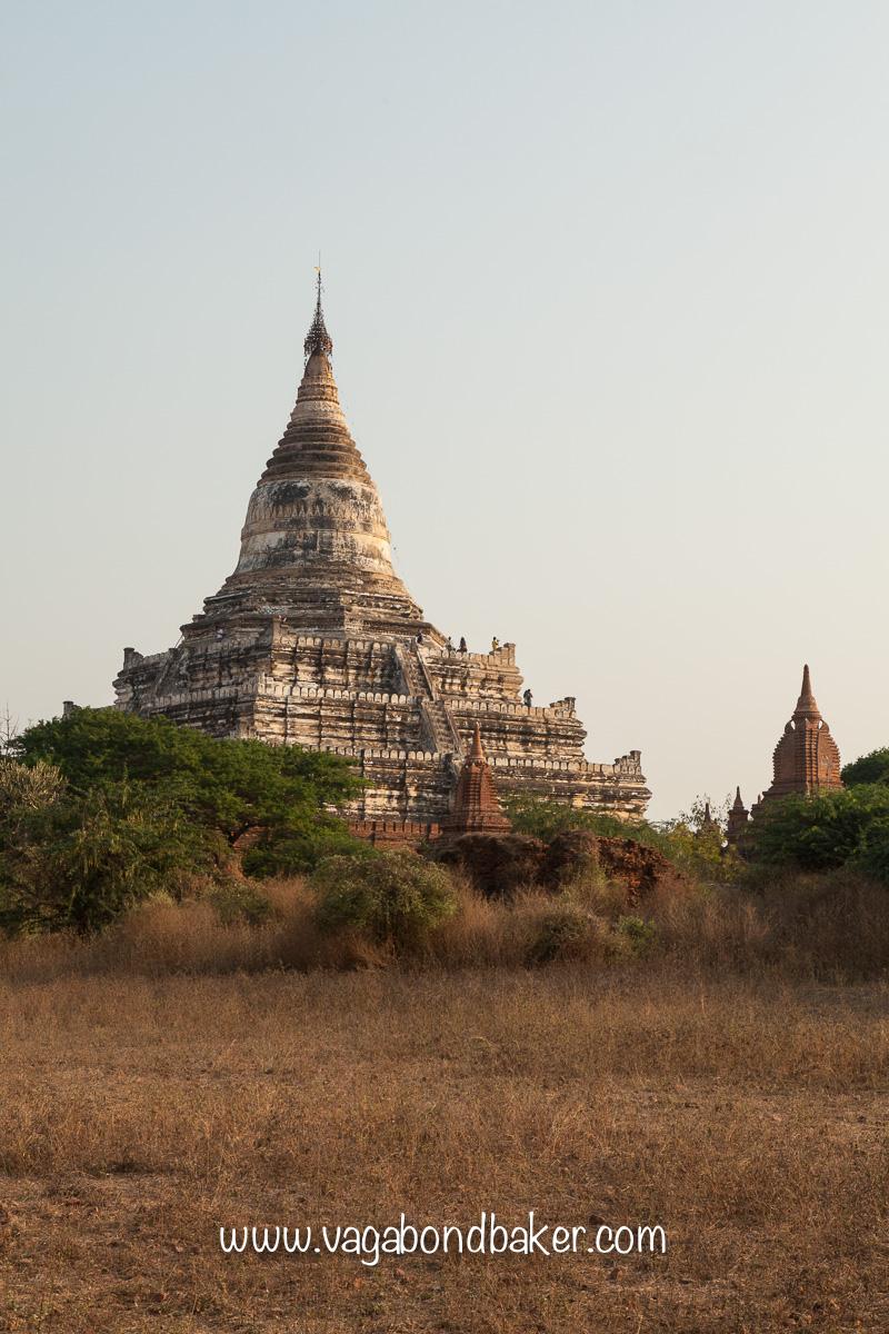 Bagan sunrise, Burma, Shwesandaw Paya