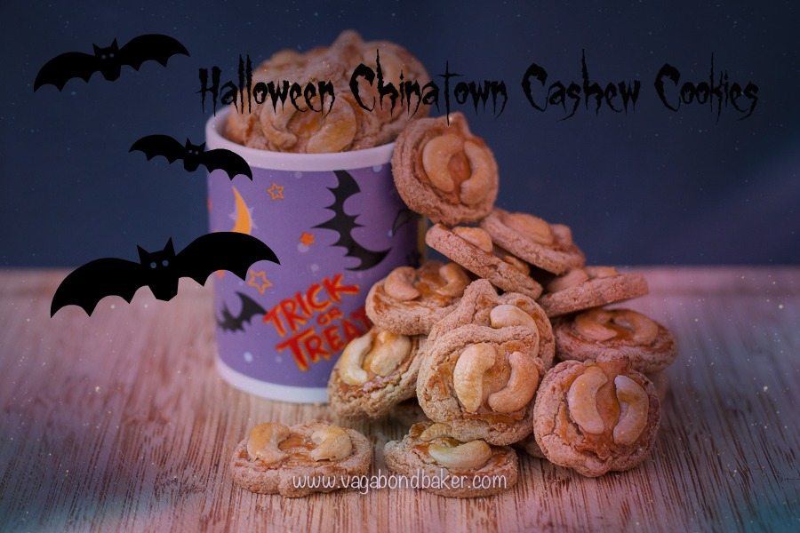 Halloween Cashew Cookies
